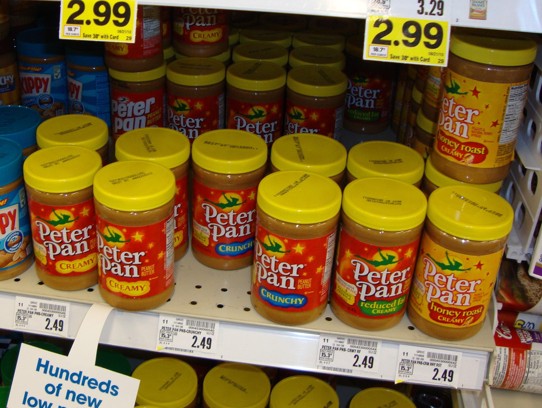 recipe: peter pan peanut butter recall 2016 [29]